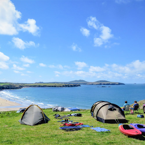 Stay at Whitesands Camping®